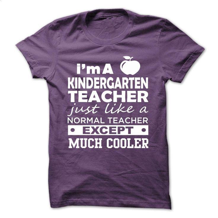 I'm A KINDERGARTEN TEACHER T Shirts, Hoodies, Sweatshirts - #vintage t shirts #funny tee shirts. BUY NOW => https://www.sunfrog.com/LifeStyle/IM-A-KINDERGARTEN-TEACHER-43371988-Guys.html?60505