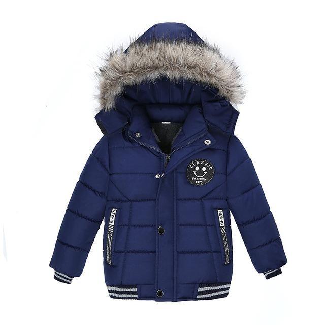 Winter Hooded Down Jacket