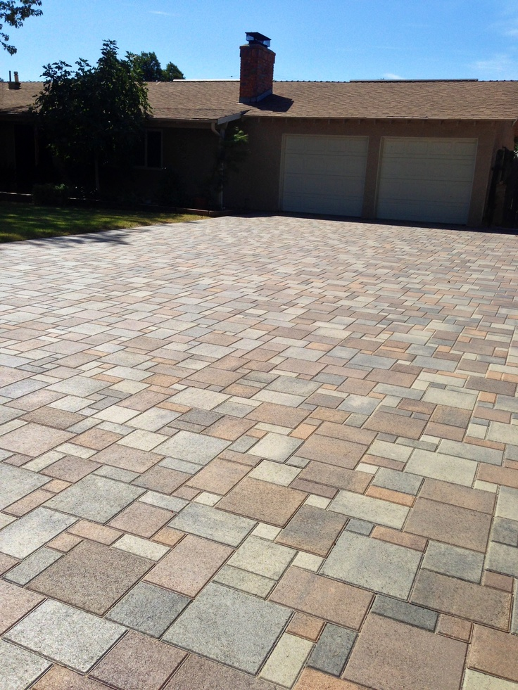 Pavers Driveway Orco Villa From Modernpaving