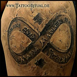 3d tattoo unendlichkeitszeichen tattoo pinterest 3d tattoos 3d and tattoos and body art. Black Bedroom Furniture Sets. Home Design Ideas