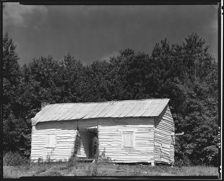 W. Evans. Negro Cabin, Hale County, Alabama. 1935.: 1935 Whitewash, Alabama C1935 36, Hale County, Alabama Stories, Negro Cabin, The Farm, Walker Evans, Alabama Vintage