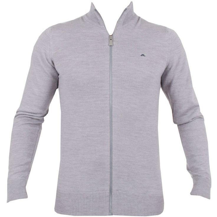 J Lindeberg Kenny True Merino Lt Grey Melange #golf #fashion #trendygolf #jlindeberg
