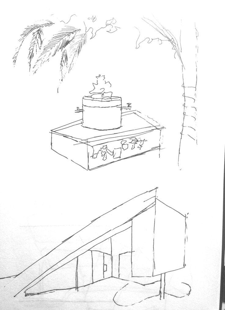 Sketch at Inner City Arts
