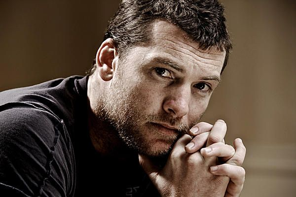 Yum...my inspiration for Nick McClain in Duck and Run (Sam Worthington)