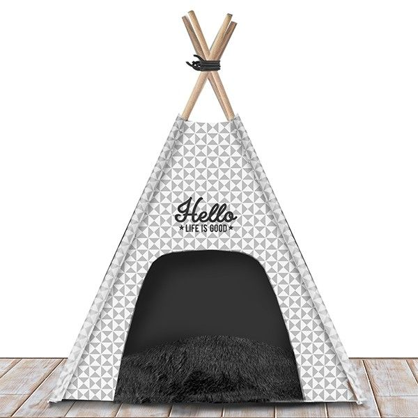 Tipi Life Is Good gris - Made in Dog