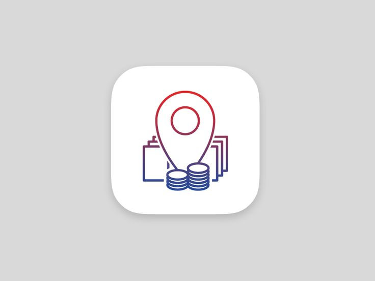 Investment map icon by Tomas Kopecny