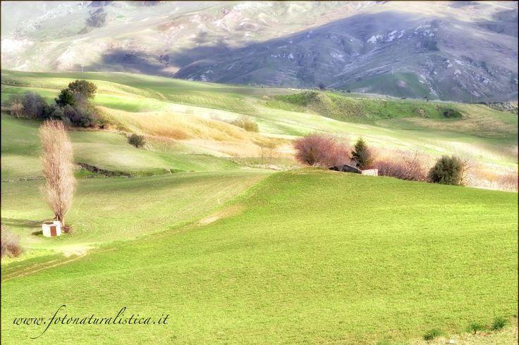 Sicilian landscape. by Fotonaturalistica.it