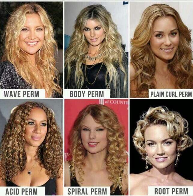 Superb 1000 Ideas About Types Of Curls On Pinterest Hair Curler Wand Short Hairstyles Gunalazisus