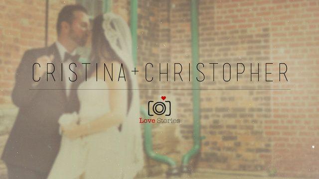 Cristina & Christopher  www.lovestoriesfilms.com