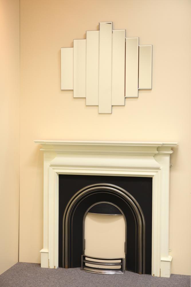 art deco bedrooms black , ivory | Art Deco - art-50-art-deco-mirror-in-silver - www.mirrorzone.ie ...