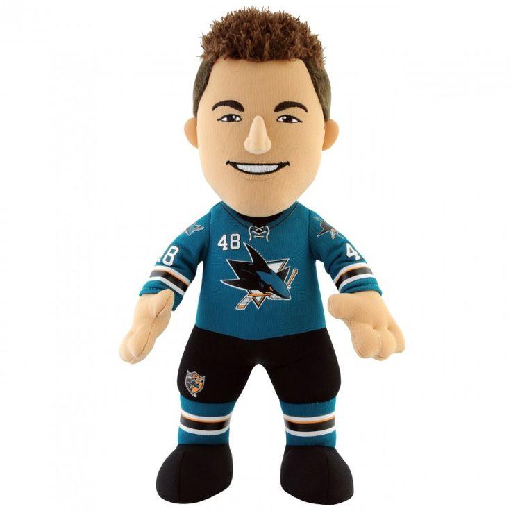 "San Jose Sharks Tomáš Hertl 10"" Plush Figure - $19.99"