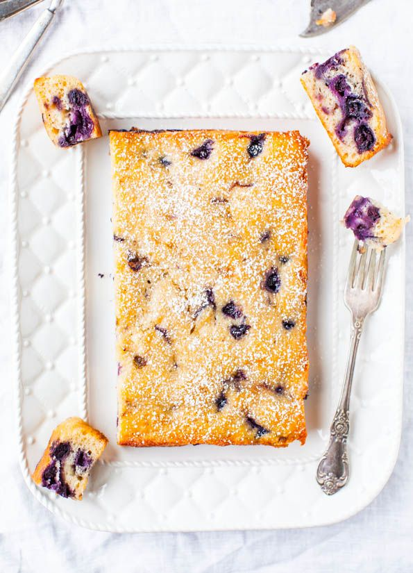 Blueberry Muffin and Buttermilk Pancakes Cake | Recipe