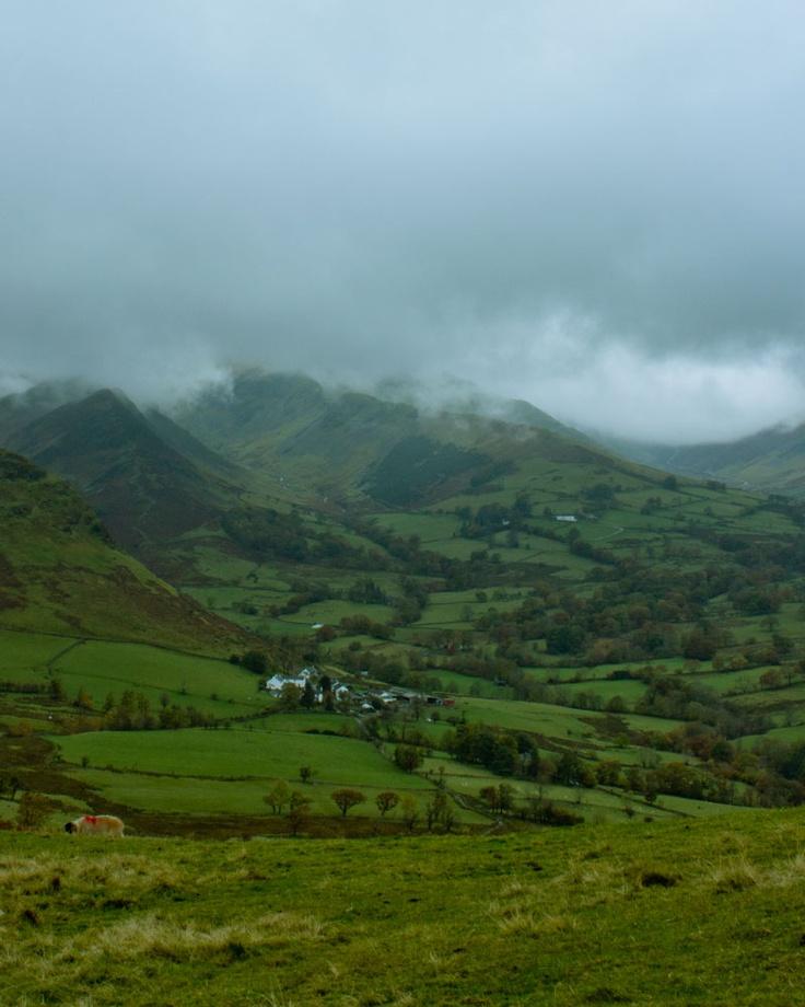 Lake District northern England