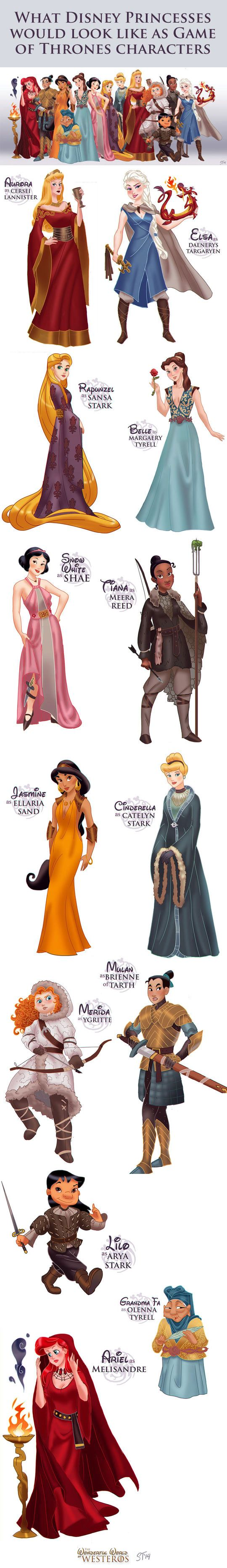 "The Disney version of ""Game of Thrones.""  I need Elsa as Dany. I want to be this for every Halloween forever."