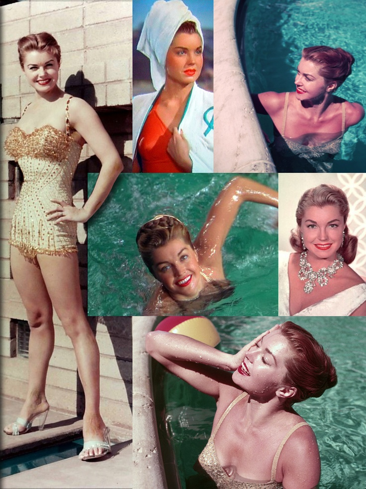 Esther Williams (August 8, 1921 - June 6, 2013) was an American competitive swimmer & MGM movie actress. She set multiple national and regional swimming records in her late teens as part of the Los Angeles Athletic Club swim team. Unable to compete in the 1940 Summer Olympics because of the outbreak of World War II, she joined Billy Rose's Aquacade, where she caught the attention of MGM scouts.
