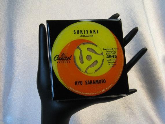Kyu Sakamoto Sukiyaki  Collectible  Drink by ROCKANDROLLCOASTERS, $6.50