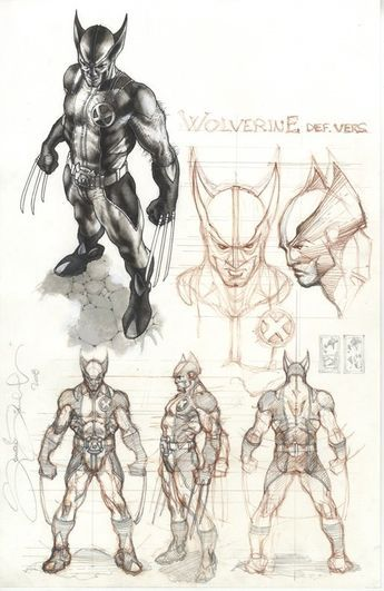 Más artes de Simone Bianchi para Astonishing X-Men