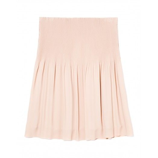 Falda plisada forrada con vuelo. Ideales para una noche especial.