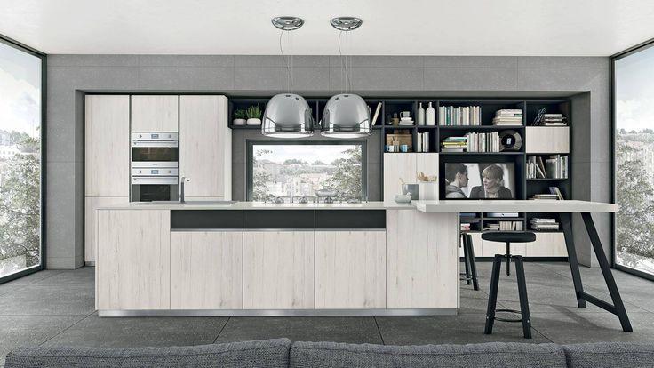 Moderne e sempre più di tendenza le cucine in stile minimal affascinano sempre di più il pubblico. Scopri su rivoluzione in cucina le ragioni del loro successo. #Lube #arredo #design #rivoluzioneincucina #CucineLubeTorino #Cucine #Lube
