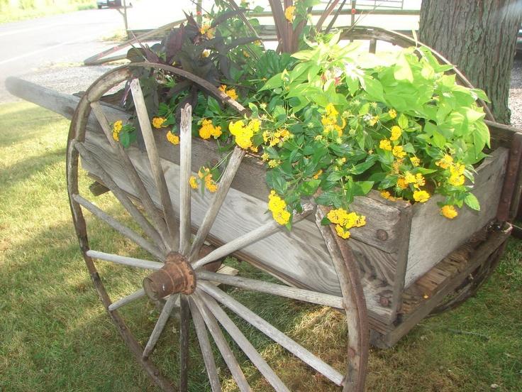 78 Best 1000 images about Garden cart on Pinterest Gardens