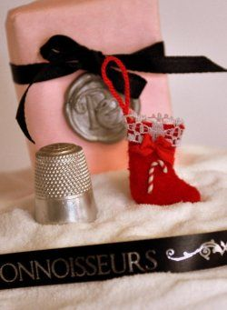 Christmas Stocking #1 by Martie's Miniatures
