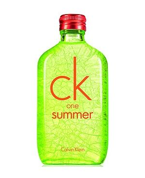 CK One Summer 2012 Calvin Klein perfume - a new fragrance for women and men 2012