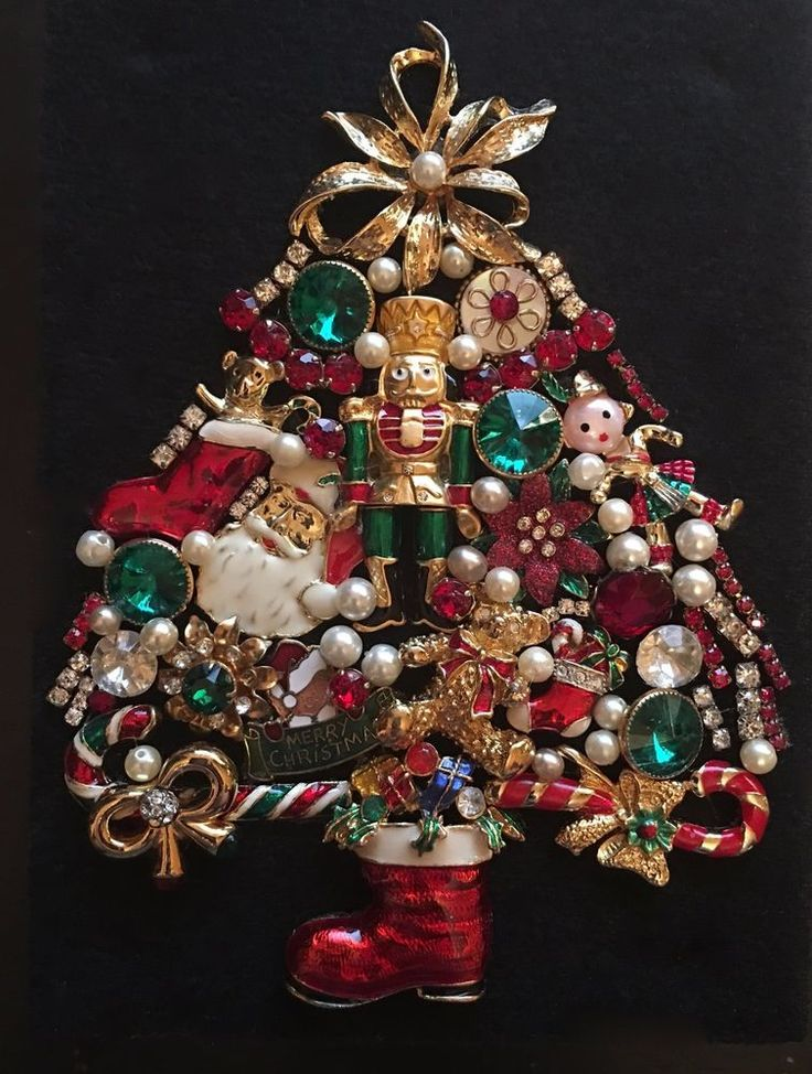 20 best Crafts - Christmas images on Pinterest | Jewelry tree ...
