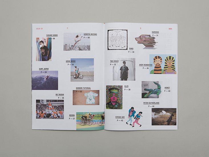Mr L'Agent / Agency projects / The L!VE Magazine Issue 02 / The L!VE Magazine Issue 02