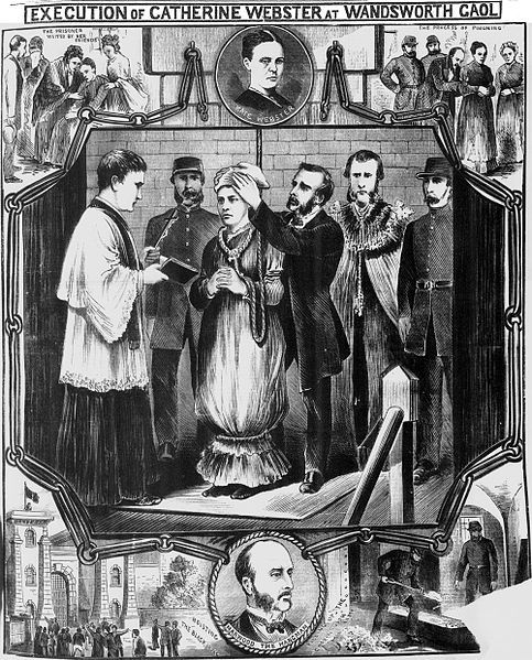 Police News Illustrations   ... as depicted by a souvenir illustration in the Illustrated Police News