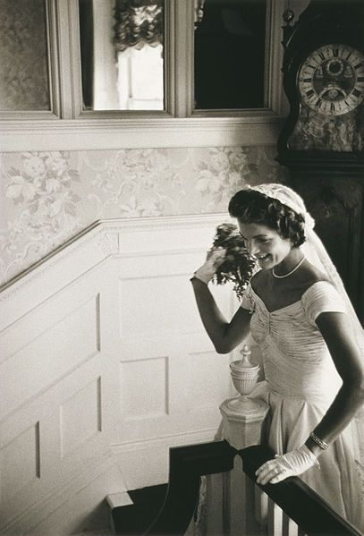 jackie on her wedding day