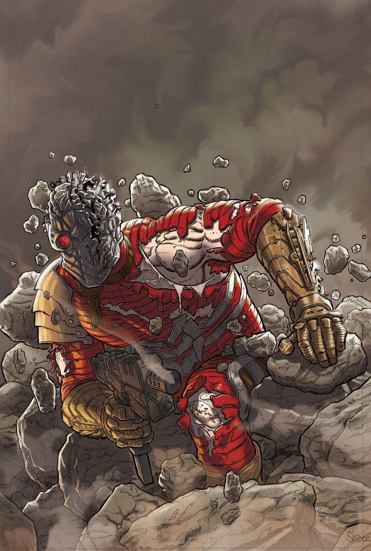 Deadshot by Steve Skroce