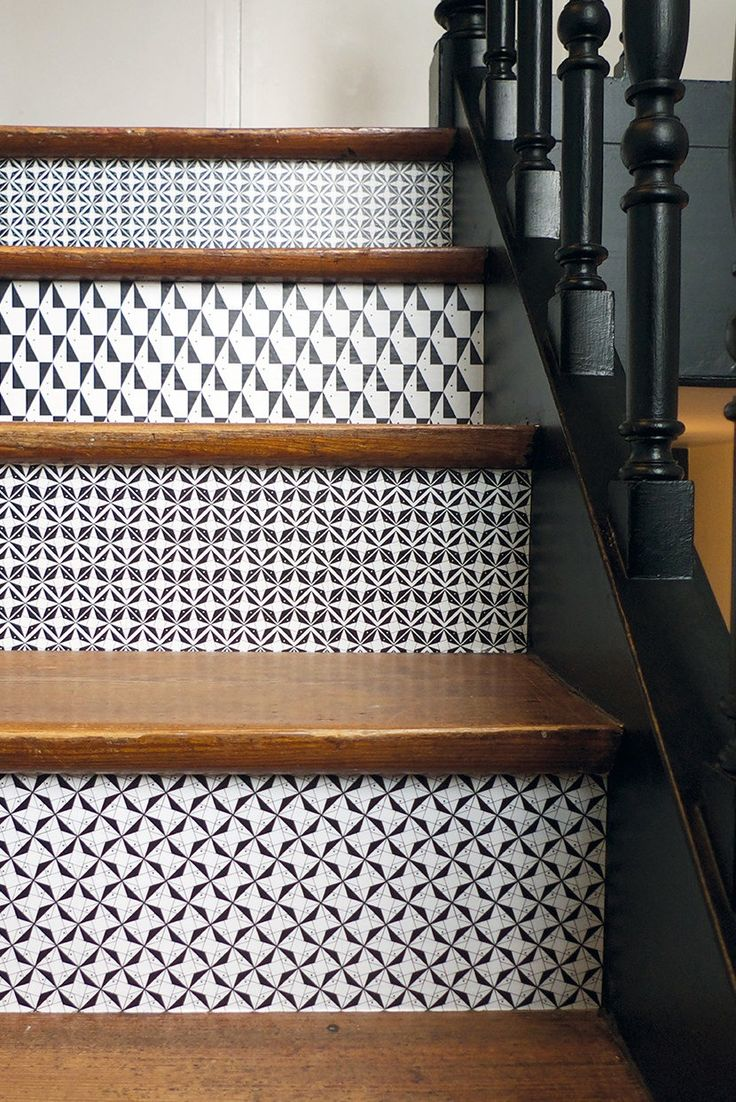 And the most creative placement of vinyl stickers goes to these stairs.