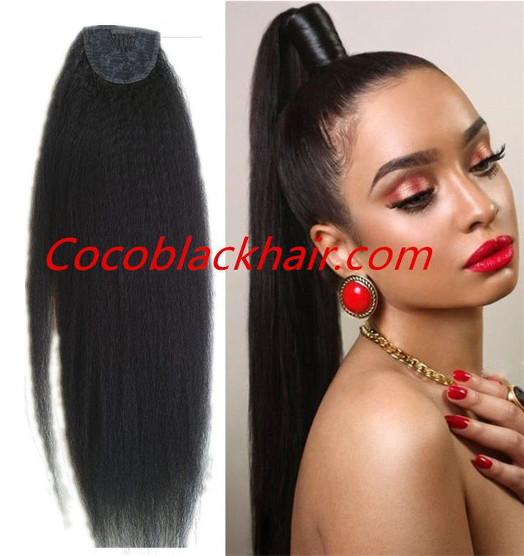 Fashion Hair Extension Ponytail, Ponytail Extension With Comb. Product Name: Human hair ponytail extensions. Material: 100% Unprocessed Virgin Human Hair Hair length: 14-26 inches avaliable (if u need other length,pls leave us message,we can custom it for you.) Hair color: #1,#1b,#2,#4,#27,#30,#613.#1b/27,#1b/30,#1b/613 Hair style: the wrap around ponytail, it is tight and convenience, the most popular style in Europe and Russia Hair Durability: At Least 12 months.