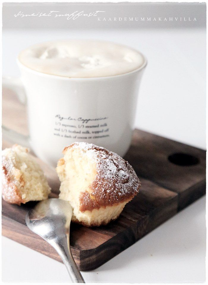 a sweet treat with coffee, cappuccino or latte - photography inside the cafe