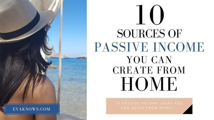 10 WAYS TO GROW YOUR PASSIVE INCOME ONLINE | PASSI…