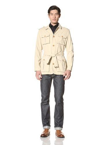 OFF Hickey Freeman Outerwear Men's Safari Jacket (Tan)