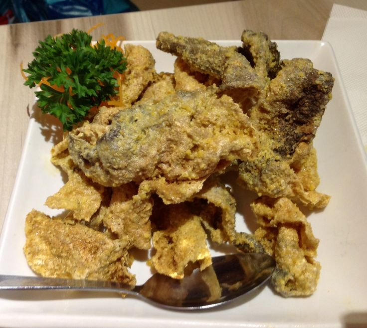 Deep Fried Fish Skin @ Village Roast Duck @ Bangsar Shopping Centre