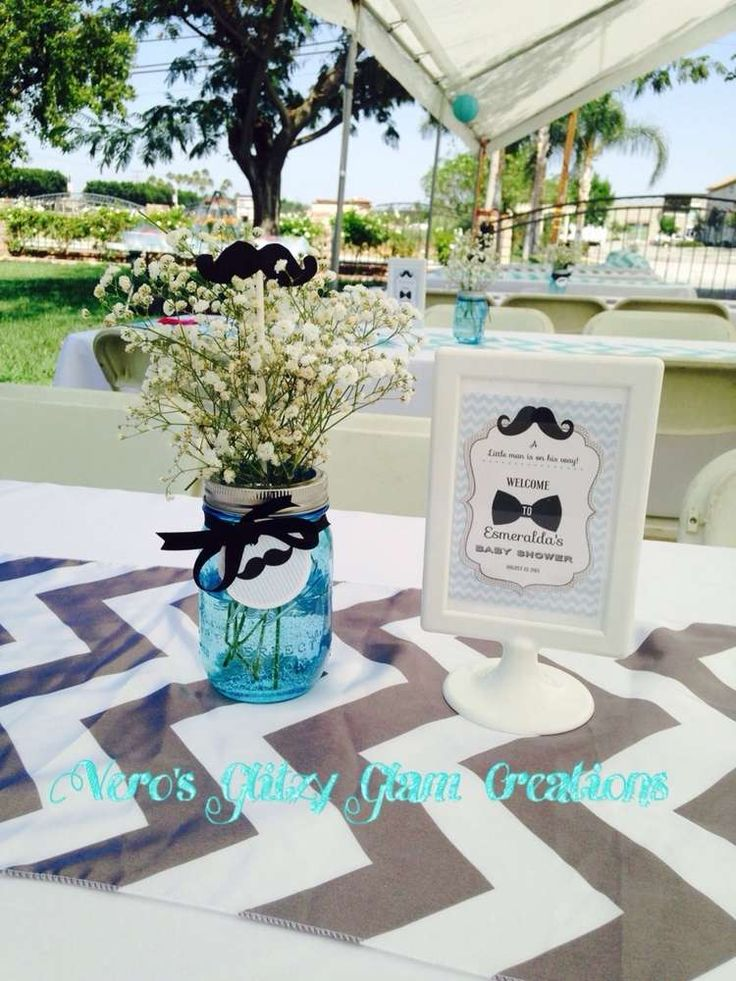 Captivating Little Man Baby Shower Party Ideas