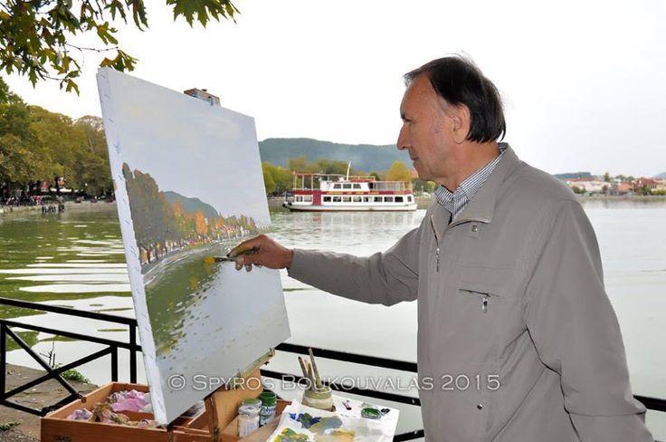 From the three days Symposium painting Από το τετραήμερο Συμπόσιο ζωγραφικής