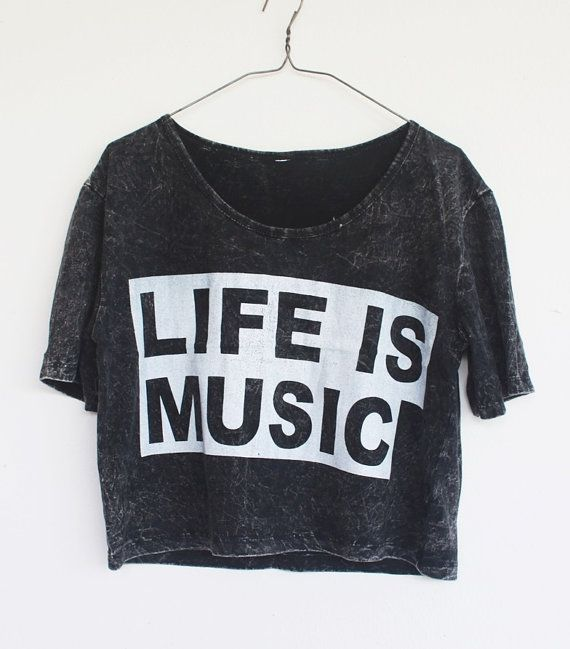 """Life is music"" tee"