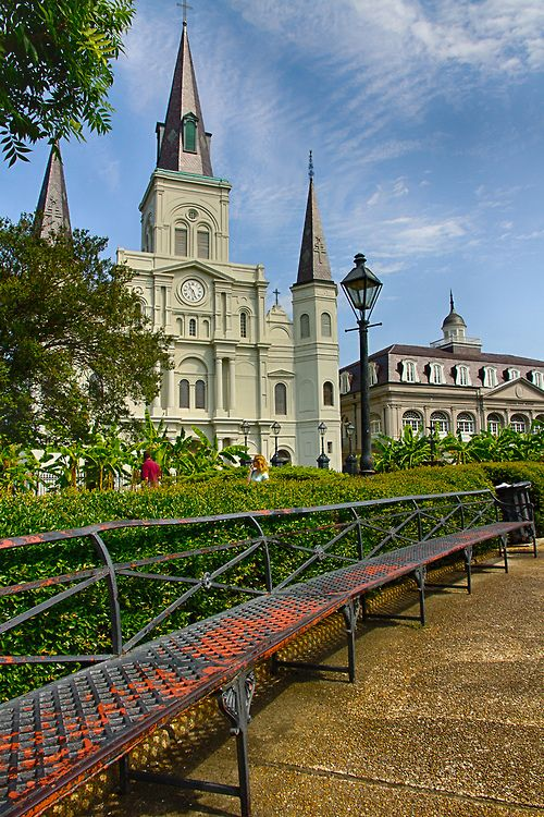 St Louis Cathedral - New Orleans - Louisiana - USA (von w4nd3rl0st (InspiredinDesMoines))