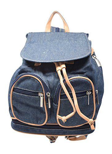 New Trending Backpacks: Retro Denim Canvas and Vegan Leather Small Casual Backpack Purse Bag. Retro Denim Canvas and Vegan Leather Small Casual Backpack Purse Bag  Special Offer: $21.99  455 Reviews Has beige faux leather accents and lots of pockets to secure your items. This classic design will complement your wardrobe in every style. Denim looks great with everything. And...