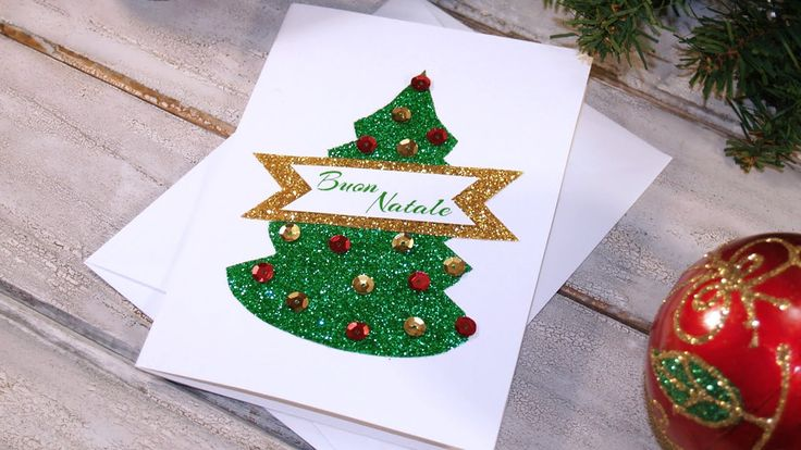 [NATALE FAI DA TE] Tutorial Biglietto di auguri di Natale - progetto #21