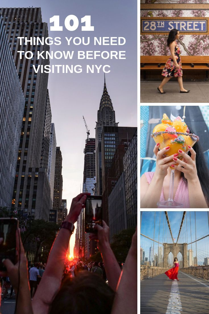 New York Travel Guide: 101 Things you need to know before visiting to NYC