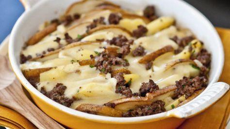 Hackfleisch-Kartoffel-Gratin