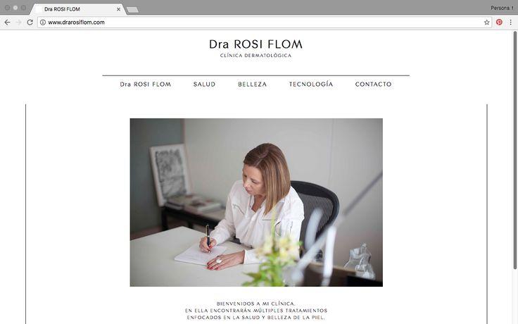 Dra. Rosi Flom. Diseño: DIEGO VALIÑA.