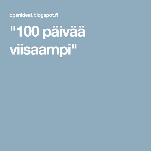 """""""100 päivää viisaampi"""""""