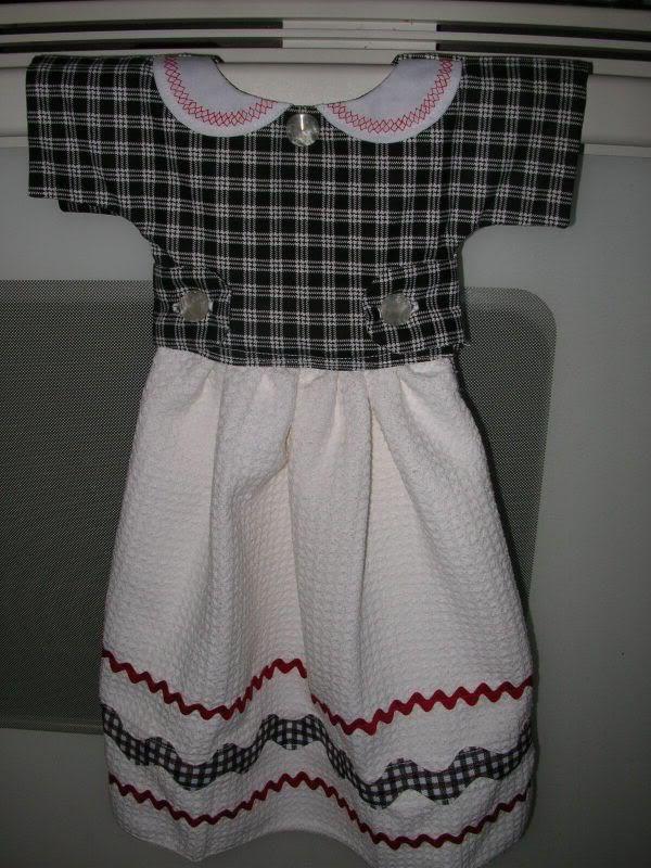 75 Best Images About Dress Pattern Kitchen Towels On Pinterest