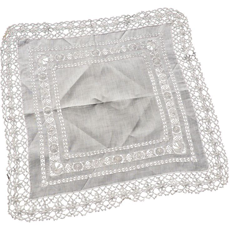 Victorian Wedding Hanky from activretrocollectibles on Ruby Lane