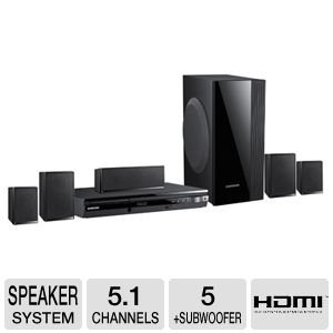samsung home theater 1000 watts. samsung ht-e550 htib 5.1 channel 1000-watt home theater system review 1000 watts y